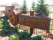 Subdivision entry monument