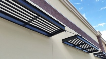 Aluminum sunshades, Thornton, CO