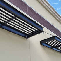 Aluminum sunshades, Thornton, CO
