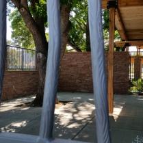 """Close up of """"Tree Bark"""" pickets. Loveland CO"""