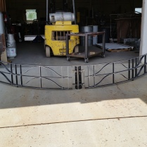 Baptismal Gates for Catholic Church