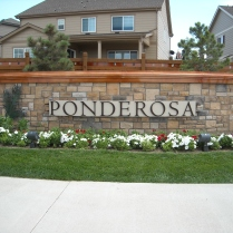Copperleaf monument complete!! Ponderosa Area
