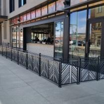 Custom exterior railings, LoDo Denver, CO